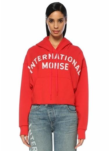 Monse Sweatshirt Kırmızı
